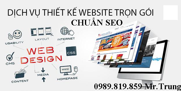 thiết kế website tại bến cát
