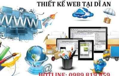 thiết kế web dĩ an