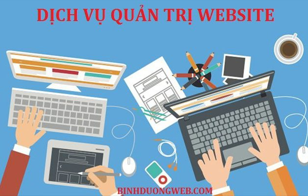 dịch vụ quản trị website tại bình dương