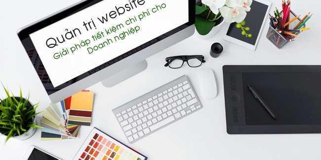 Dịch vụ quản trị, cập nhật, bảo trì website