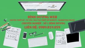 thiết kế website bàu bàng